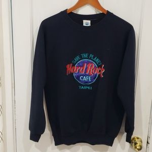Hard Rock Cafe (Taipei) sweatshirt *BUNDLE*